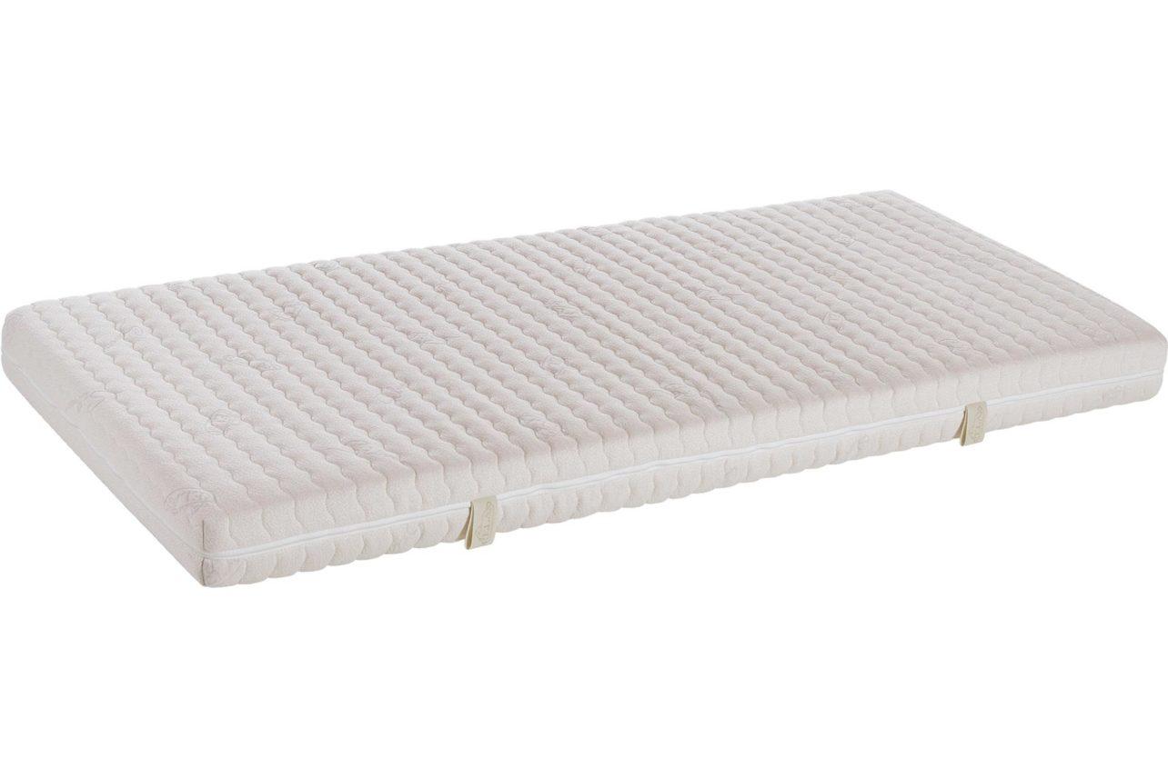 Naturmatratzenbezug Silverness mit 400 g/m² Lyocell (Tencel®) wellenförmig versteppt