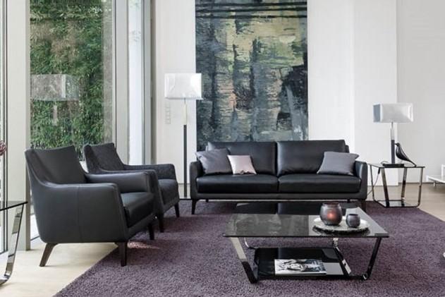 Alegra Garnitur in schwarz von den Bielefelder Werkstätten