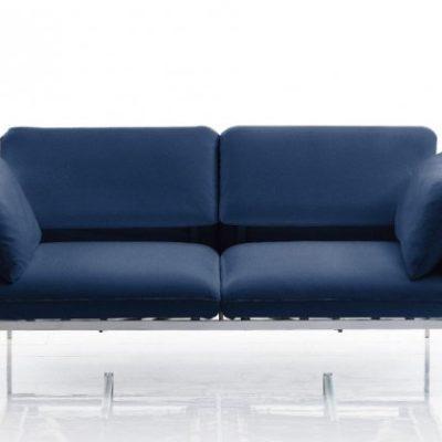 roro Sofa in blau von Bruehl