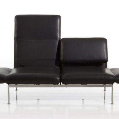 roro Sofa in schwarz von Bruehl