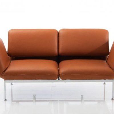 roro Sofa in braun von Bruehl