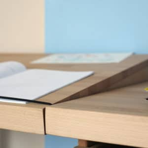 Ziggy Schreibtisch, Detail Platte