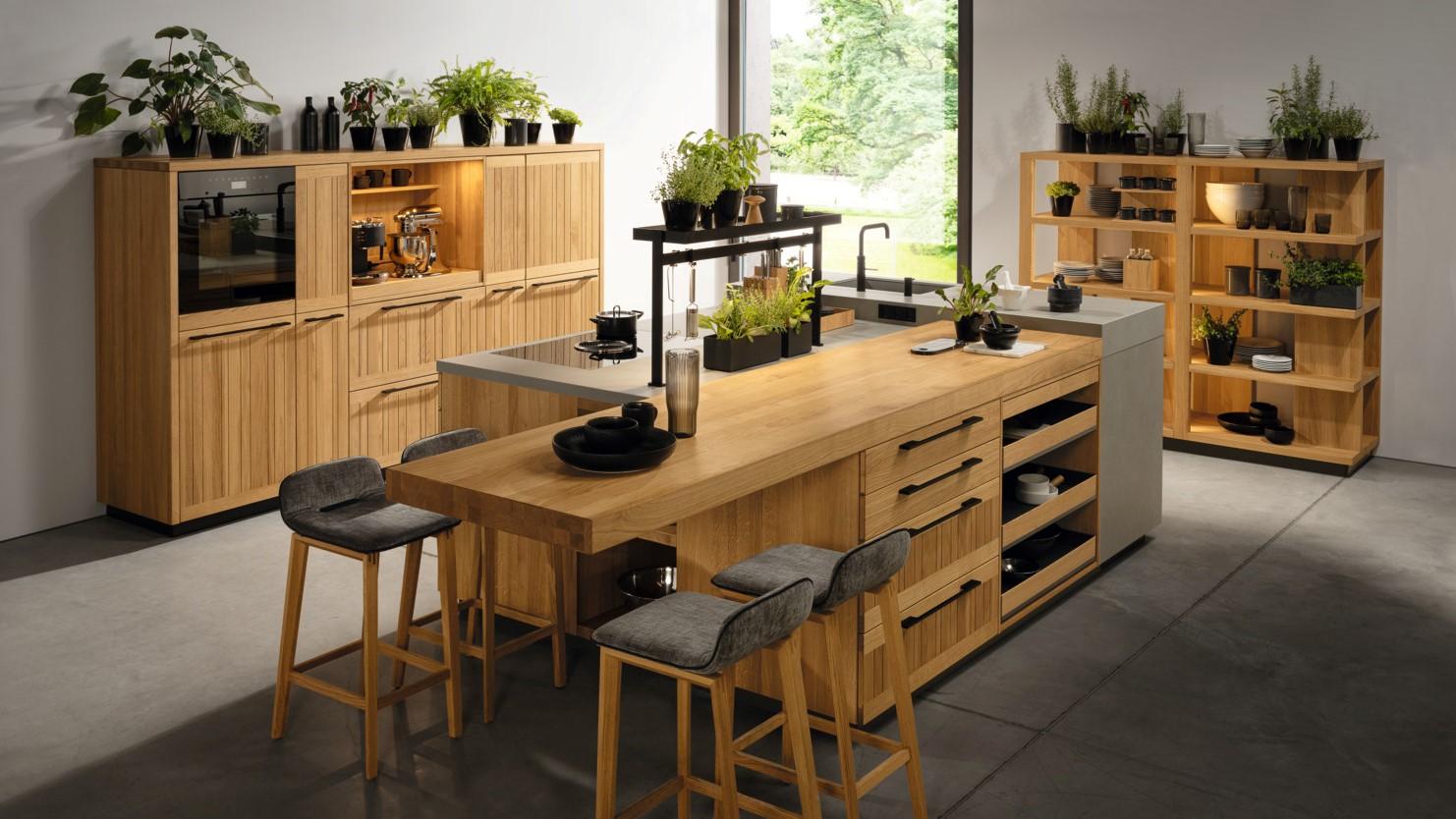 Küche echt-zeit von TEAM 7 bei Hartmann Naturmöbel in Freiburg